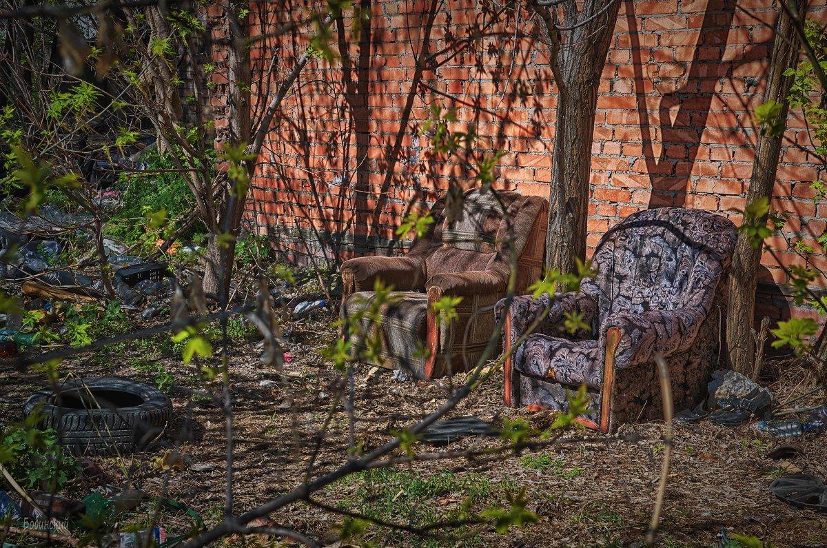 Место для курения - Константин Бобинский