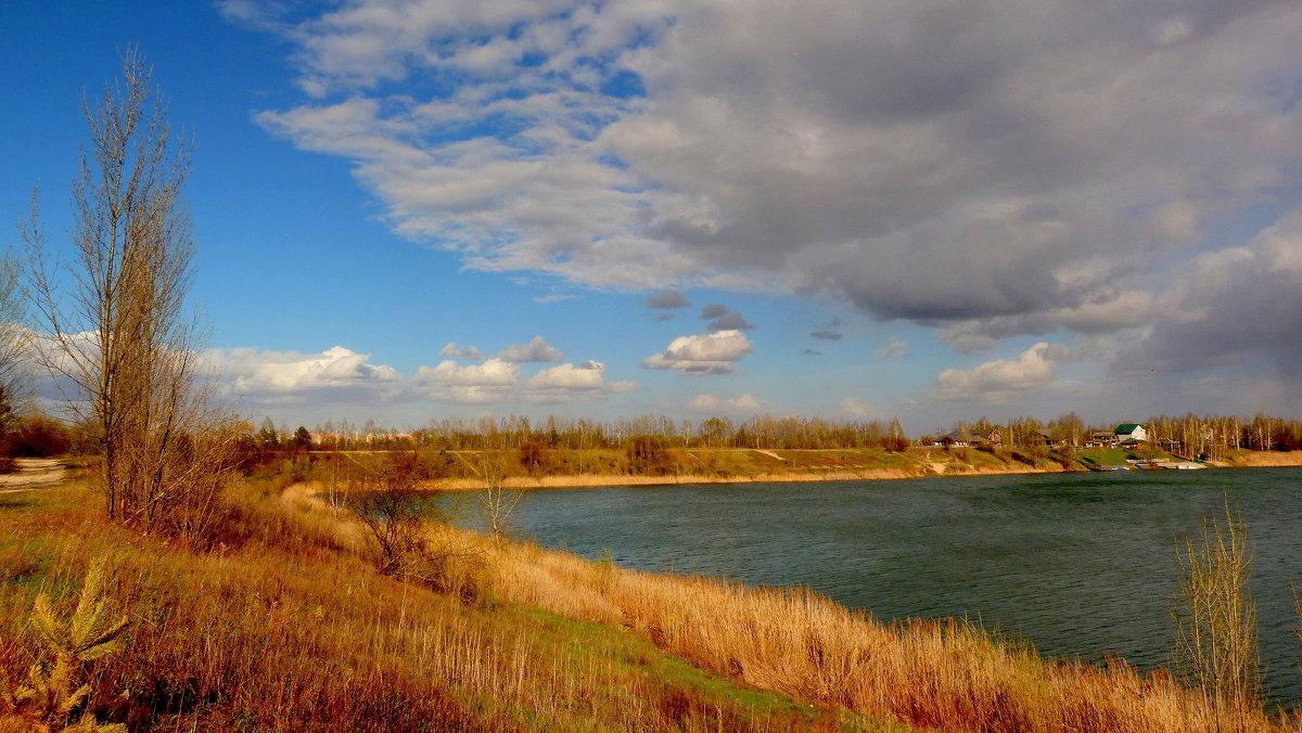 Озеро в Осовцах под Гомелем - Александр Прокудин