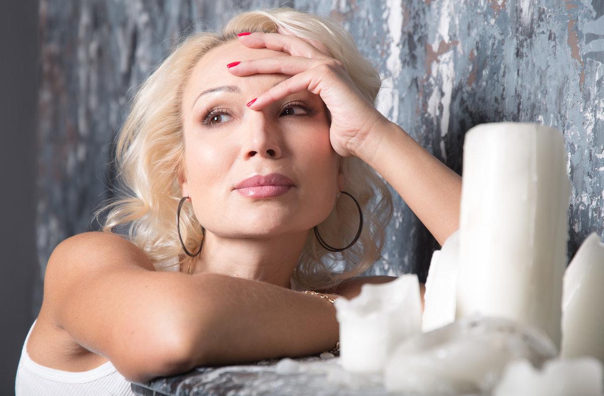 Женский портрет - Елена Скутина