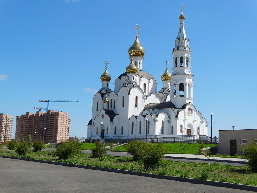 Церковь Троицы Живоначальной в Свято-Иверском монастыре... - Тамара (st.tamara)