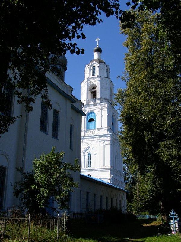 Колокольня Свято Георгиевского храма - Анна Воробьева