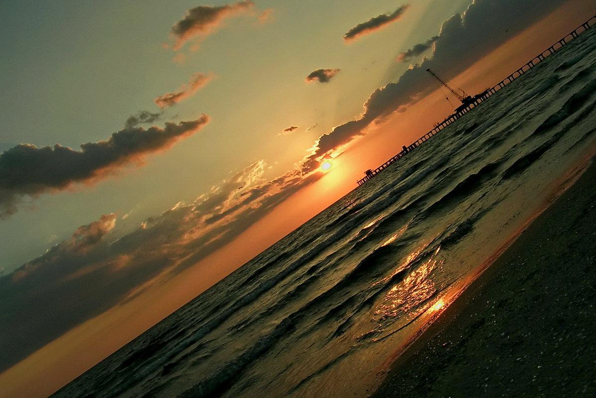 Закат на море - Анастасия Смирнова