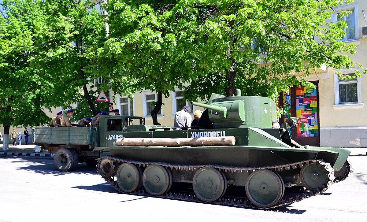 Танк БТ-5 (быстрый танк) - Владимир Болдырев