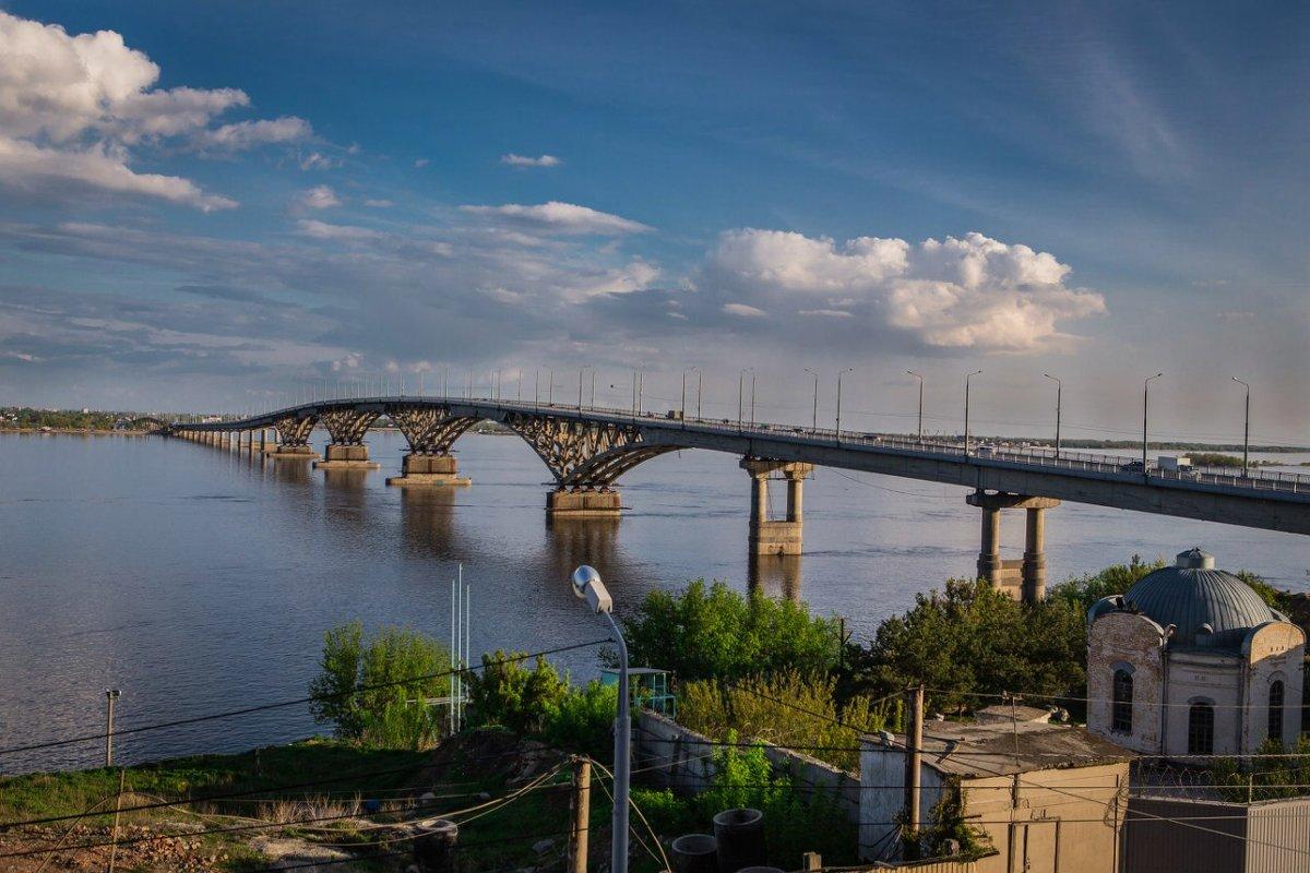 Мост в Саратове - Ruslan --