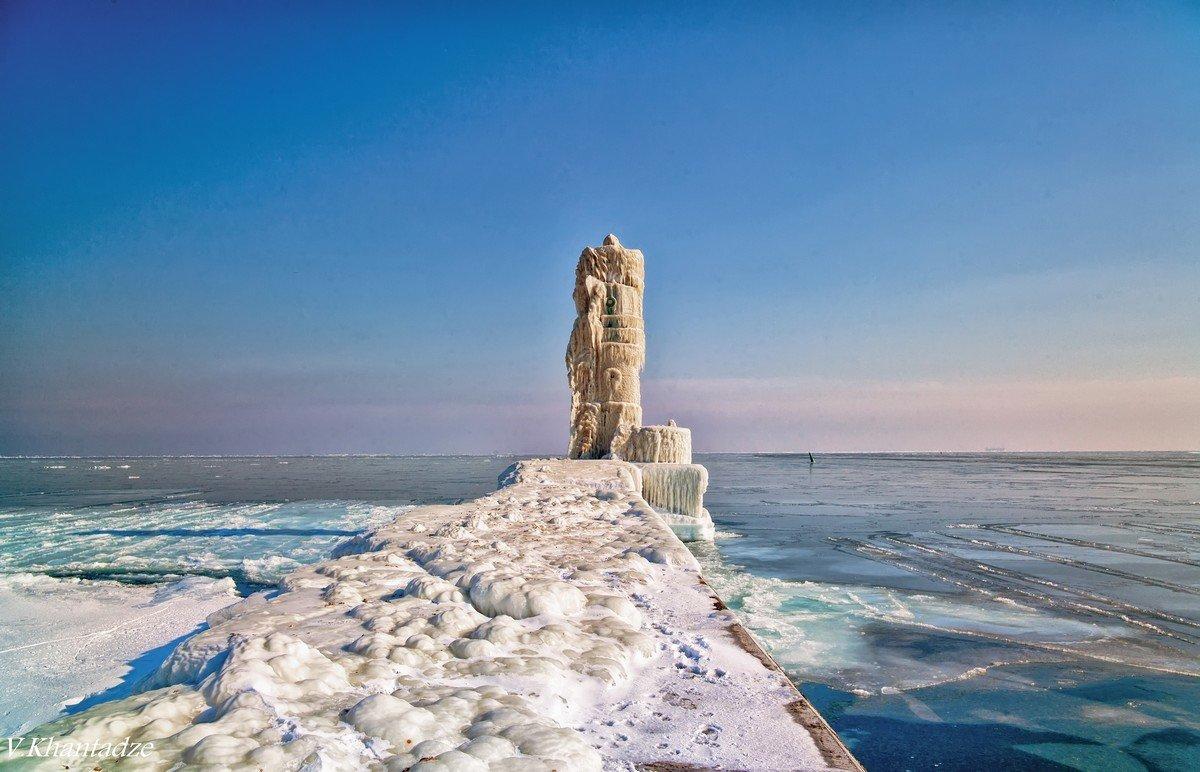 После зимнего шторма. - Вахтанг Хантадзе