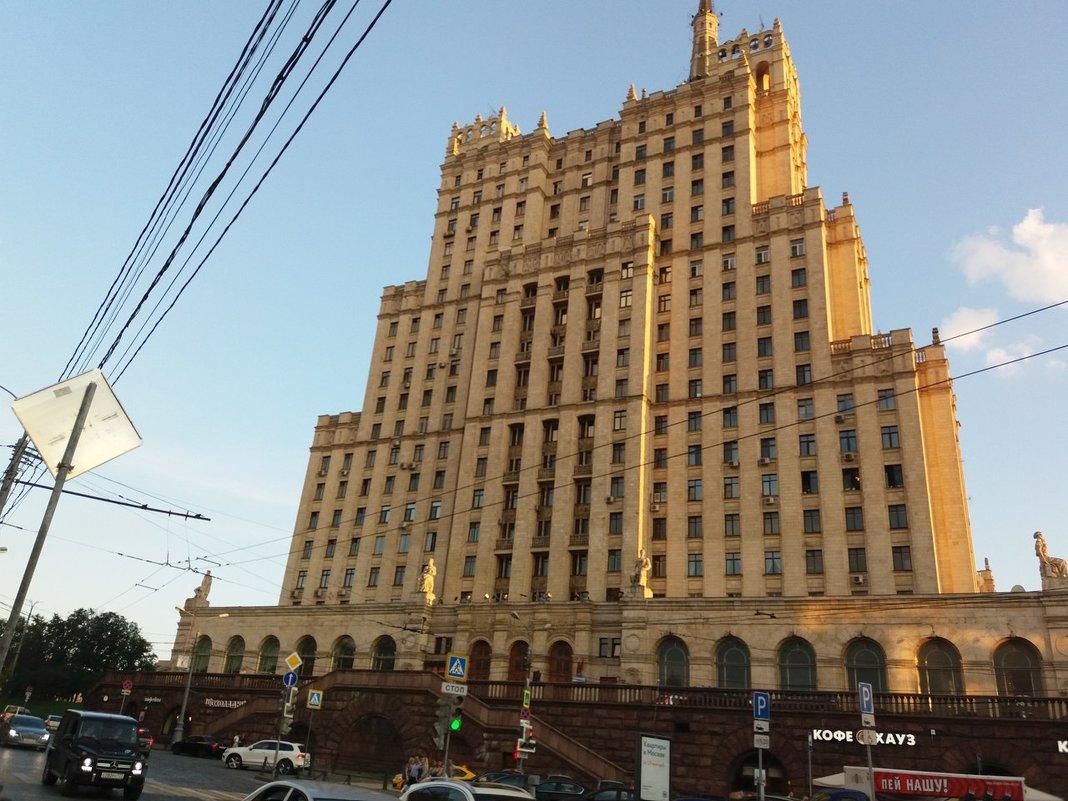 Сталинская высотка на Кудринской площади у Баррикадной - Наталья Владимировна