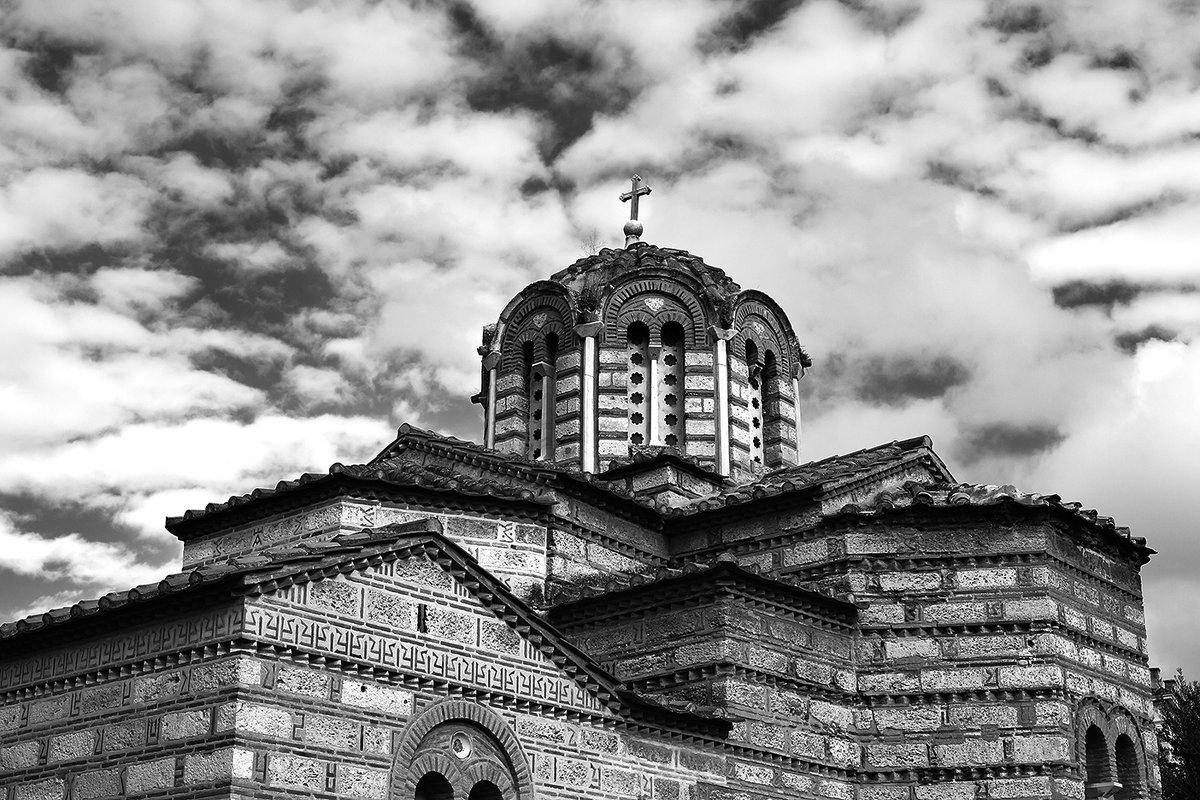 Древнегреческая церковь. - Makedonskii
