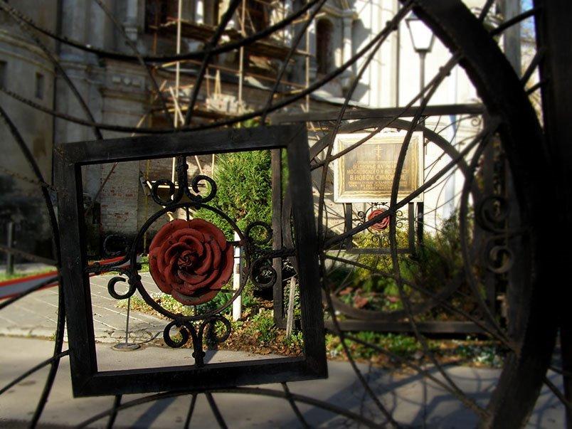 Симонов монастырь, ворота - Анна Воробьева