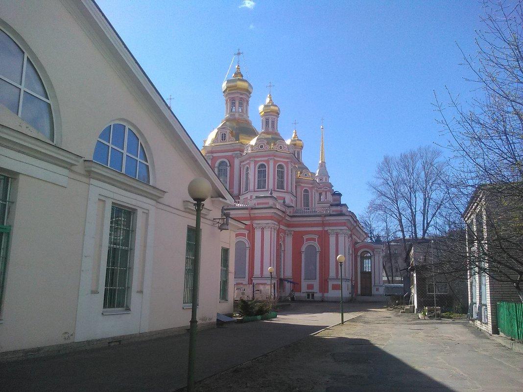 Православная церковь. (Крестовоздвиженский собор в Санкт-Петербурге). - Светлана Калмыкова