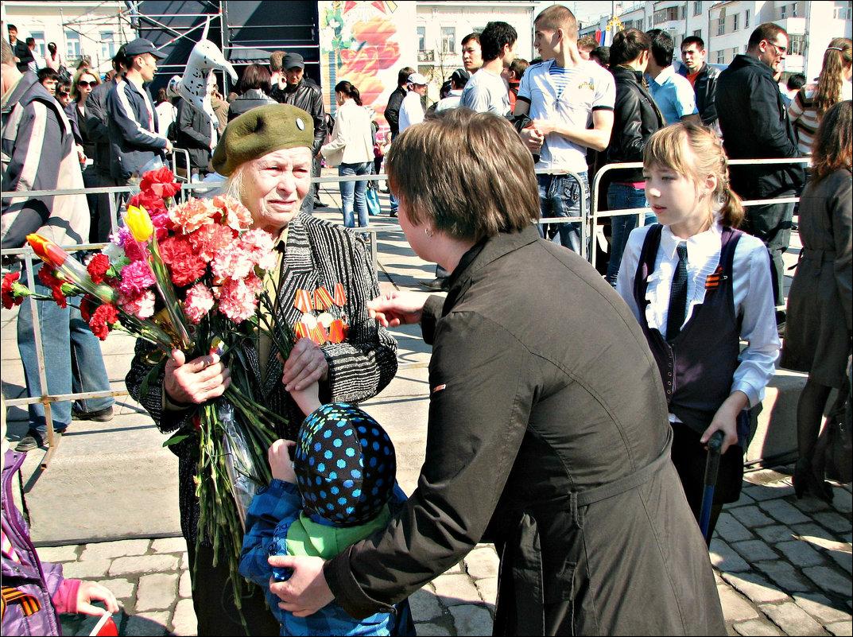 Цветы ветерану - Leonid Rutov