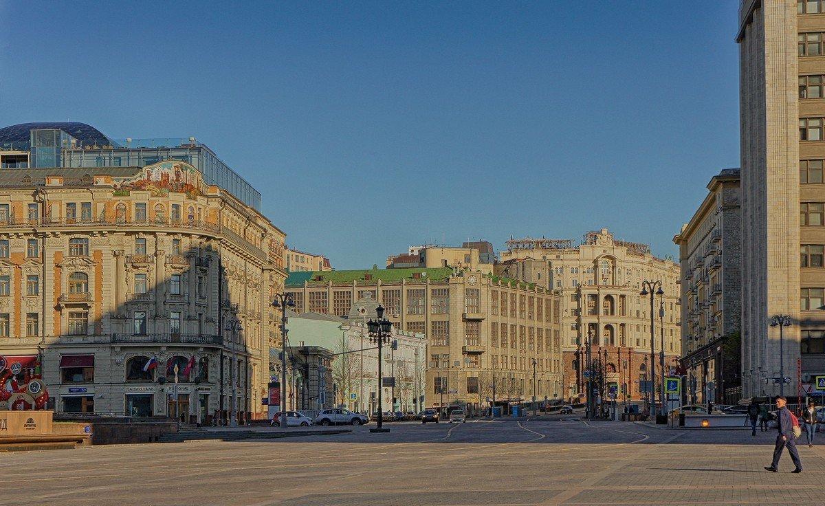 Москва весенняя 3 - марк