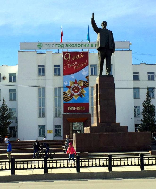 В Якутске - Елена