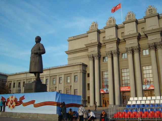 На площади Куйбышева - марина ковшова