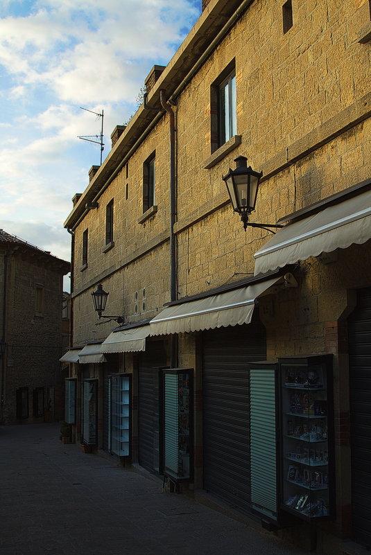 Кусочек San Marino на закате - M Marikfoto