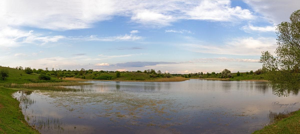 Панорама пруда. - Владимир