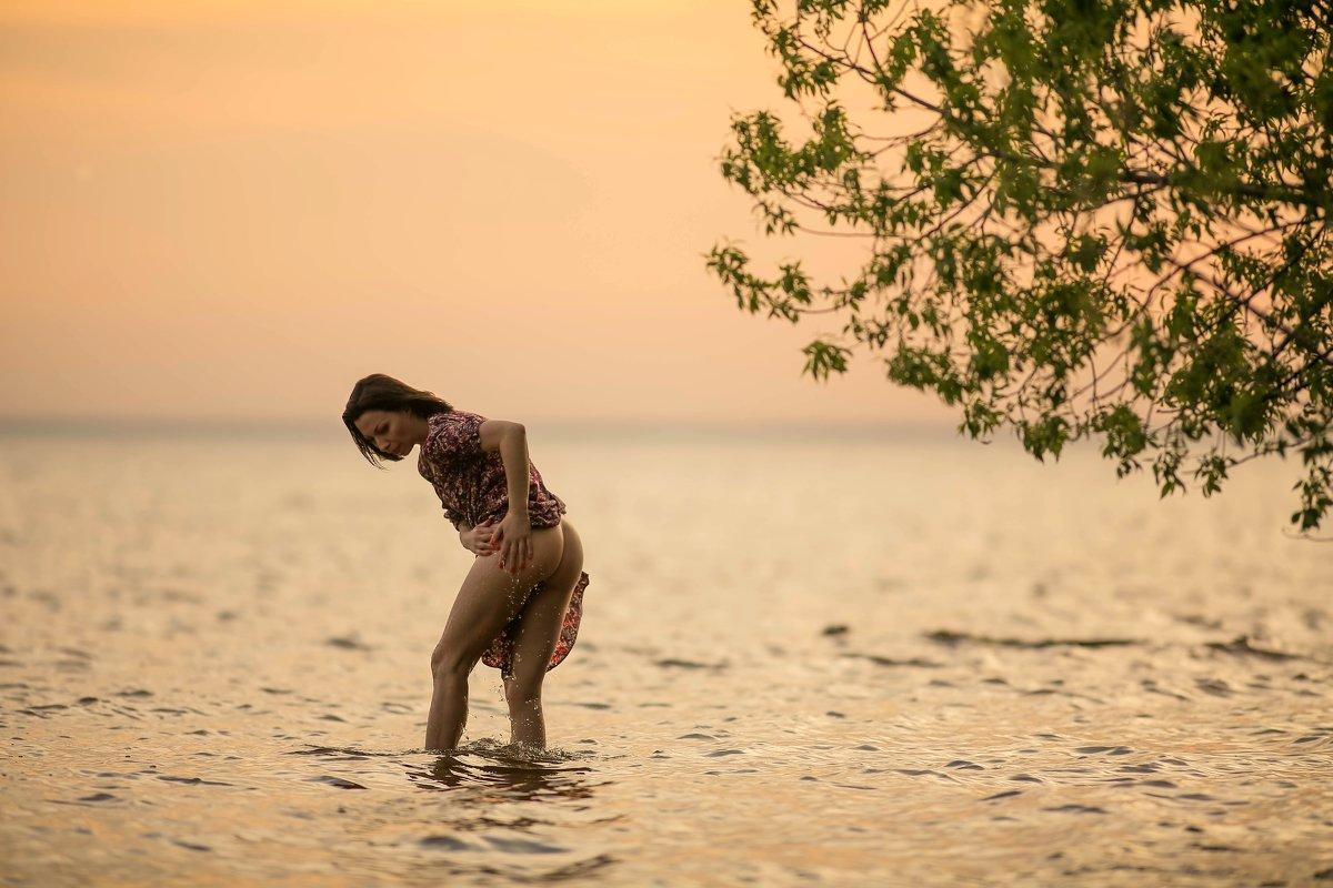 Закатные прелести весеннего купания.....) - Елена