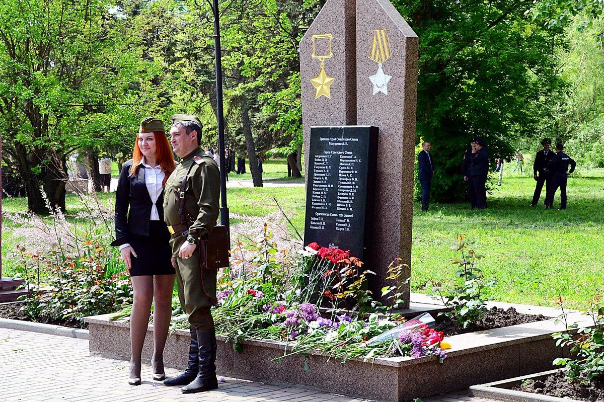 На празднике Победы - Владимир Болдырев