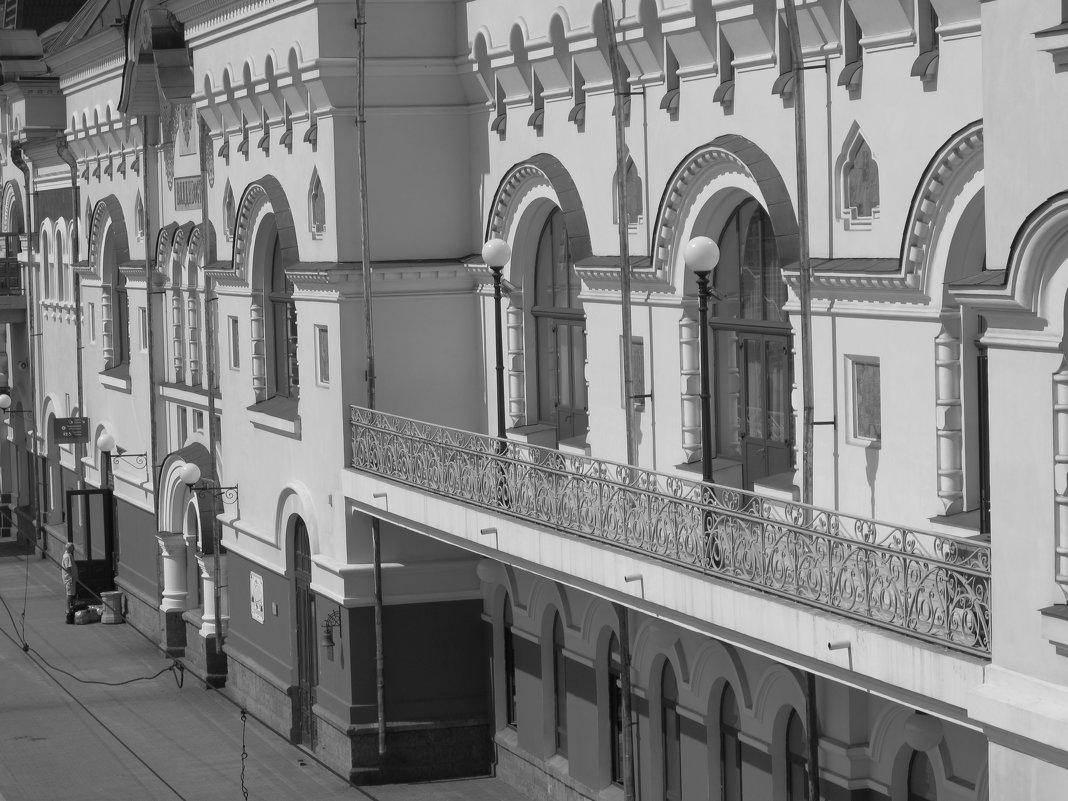 Железнодорожный вокзал. - Марина Белоусова