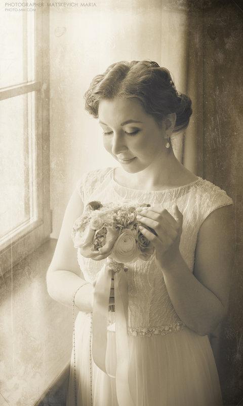невеста в стиле ретро - Мария Мацкевич