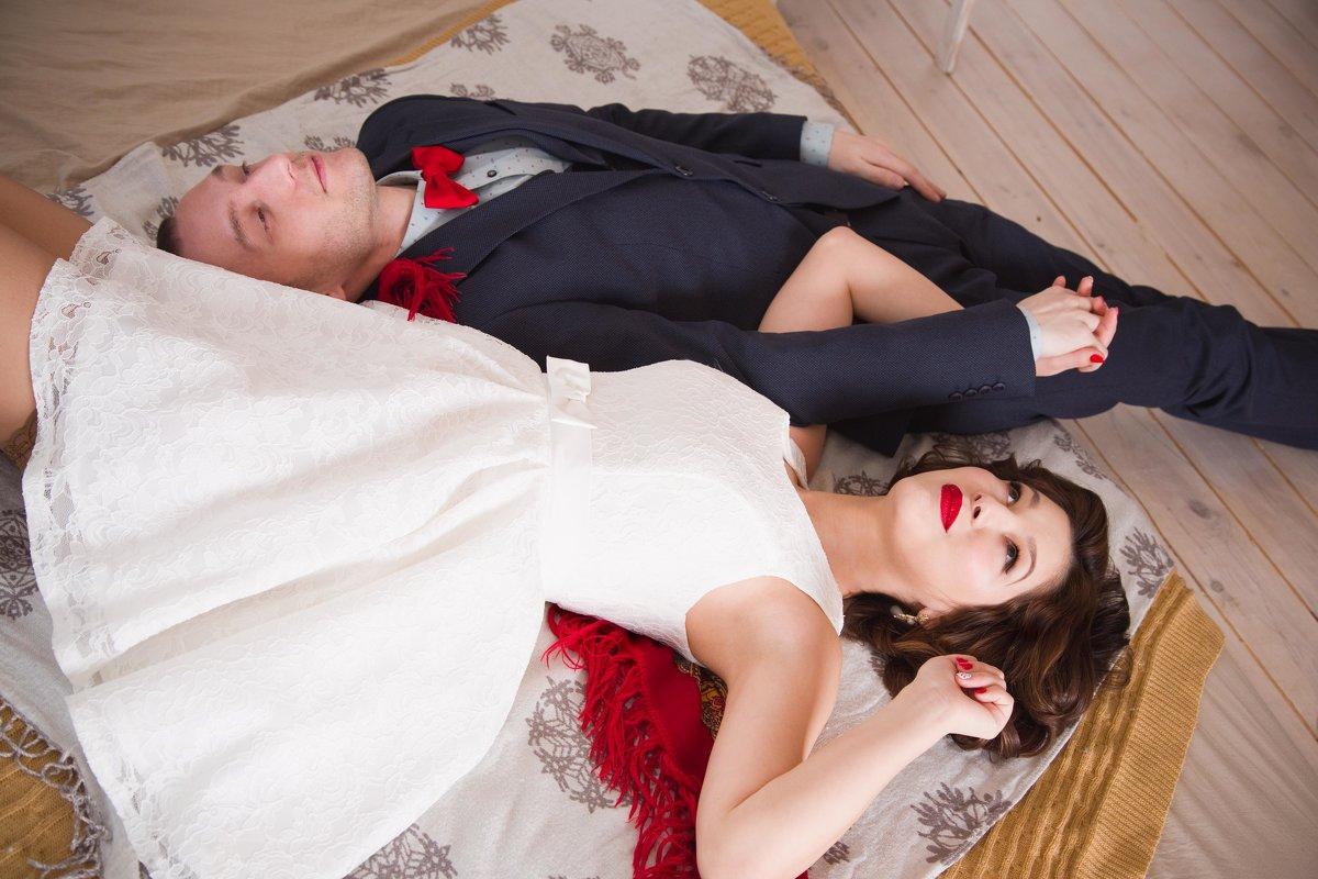 свадебная фотосессия в студии - Нина Бородина