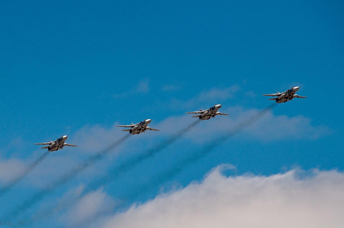 Ко Дню Победы парад ВВС - Светлана Григорьева