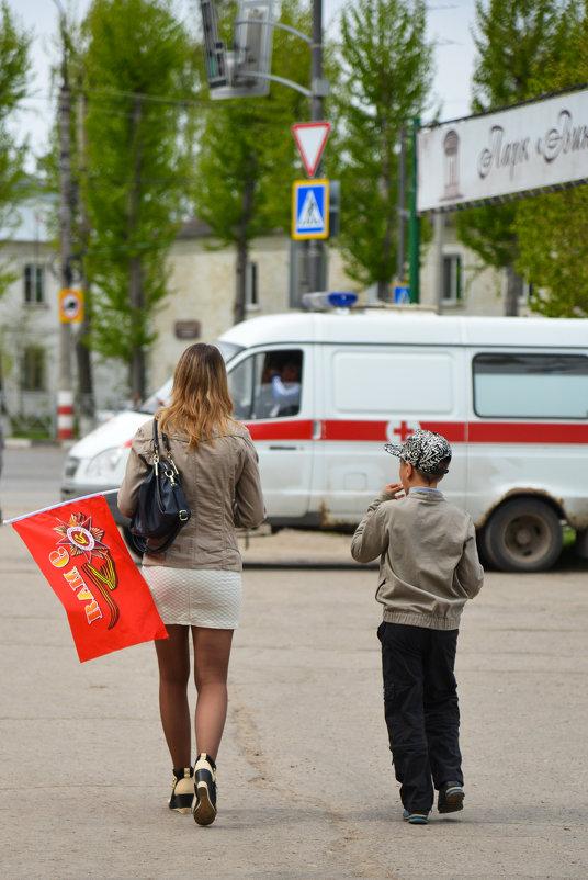 """9 май. Ульяновск. парк """"Винновская роща"""". - Александр Беляков"""