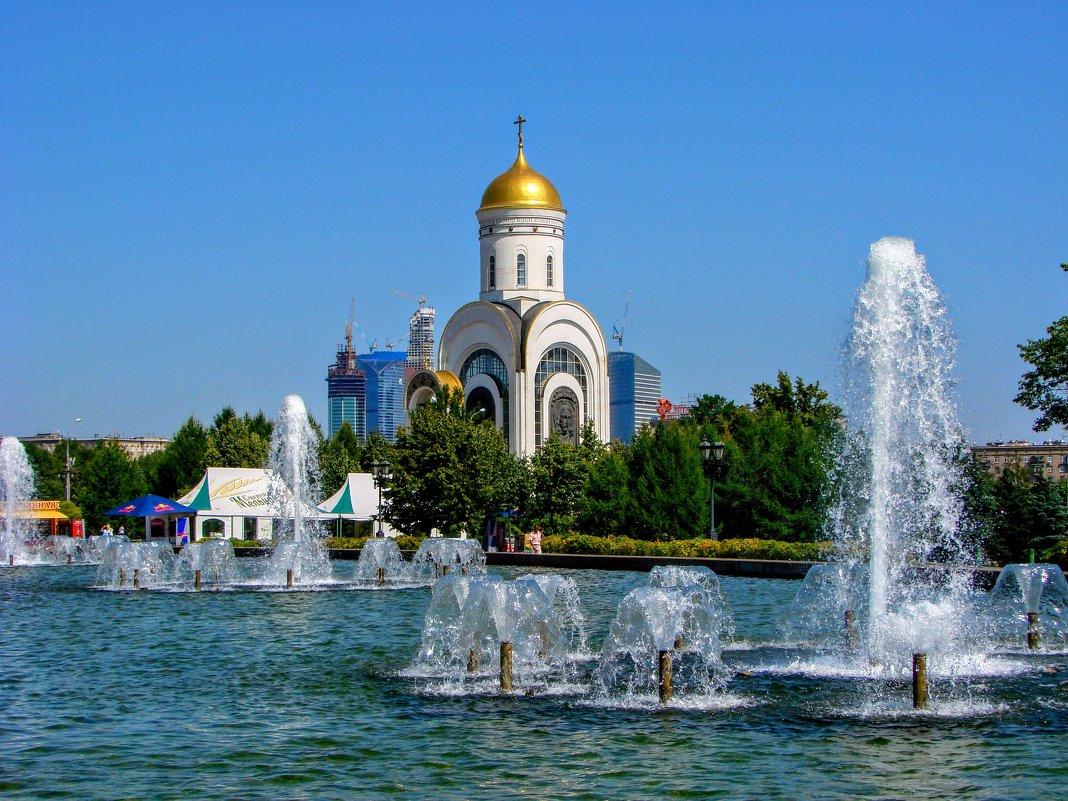 Храм Георгия Победоносца на Поклонной горе - Анатолий Колосов