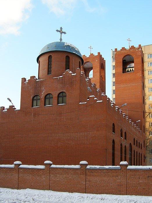 Ассирийская церковь_Assyrian Church - Анна Воробьева