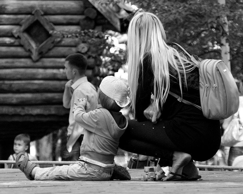 В  каждом живет ребенок... - Валерия  Полещикова