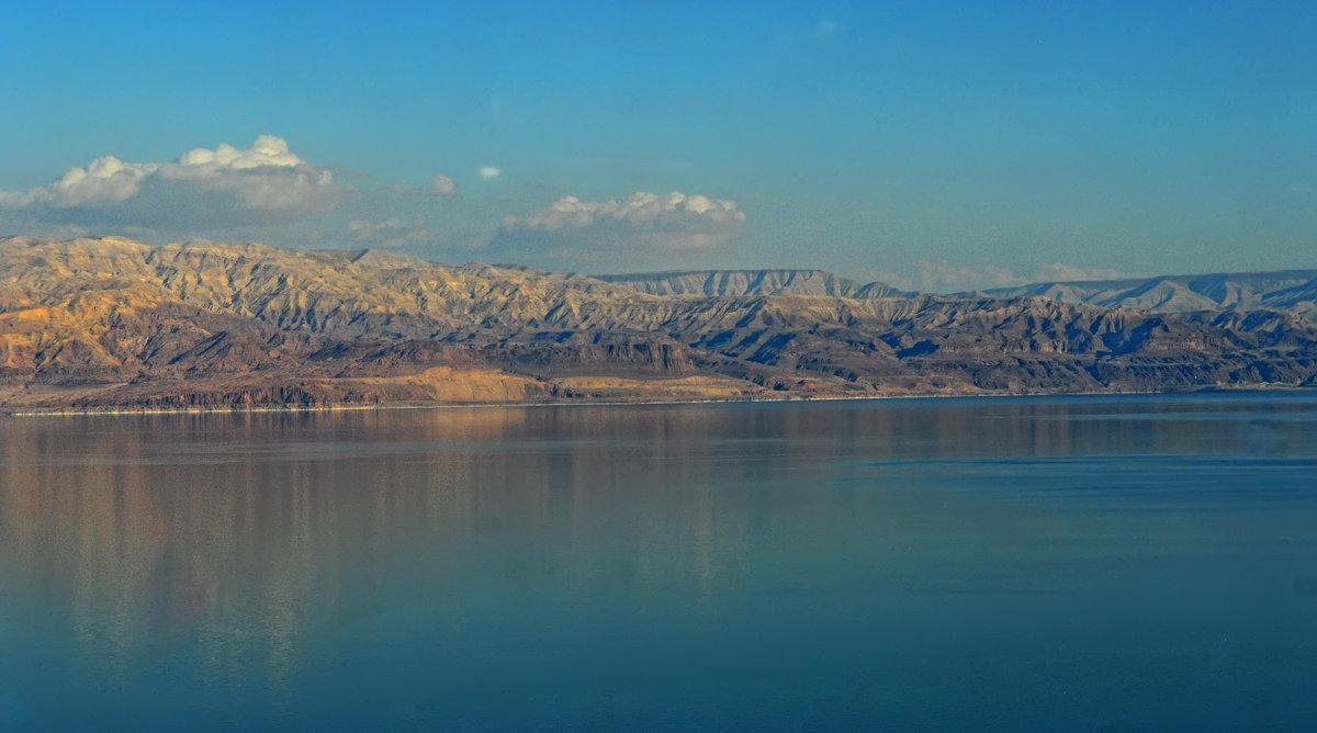 Мёртвое море.  Вид на берега Иордании. - Надя Кушнир