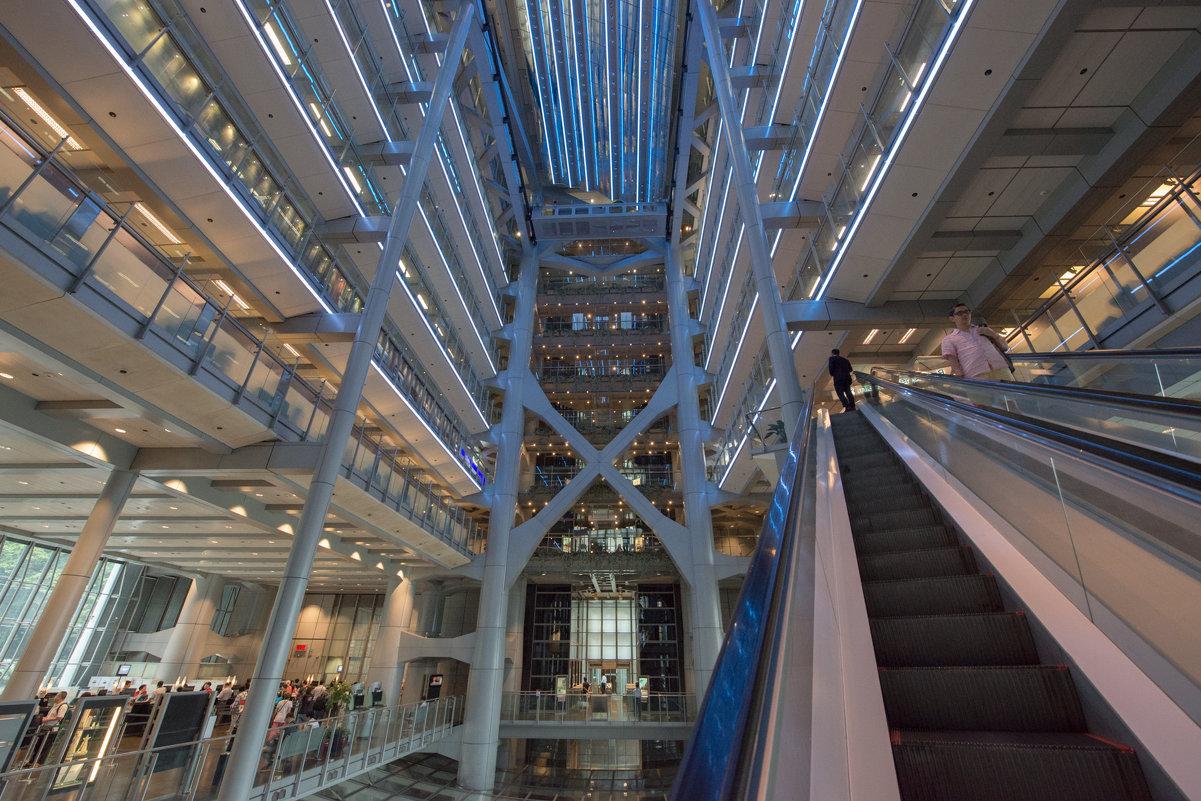 Здание HSBC банка в Гонконге. Проект Нормана Фостера - Sofia Rakitskaia