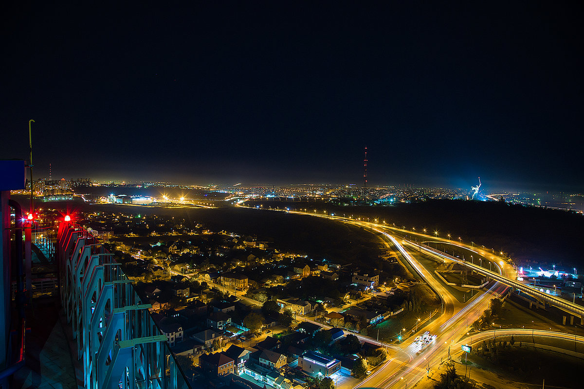 Ночной Волгоград - Артём Олейников