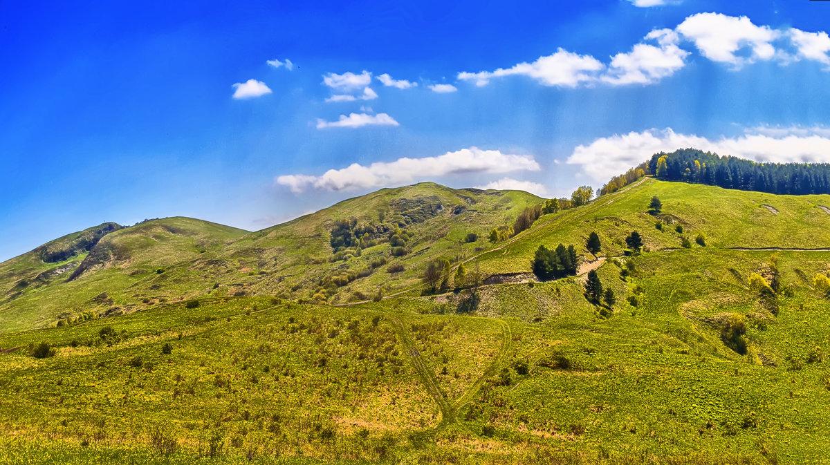 Гора Большое седло - Виктор Заморков