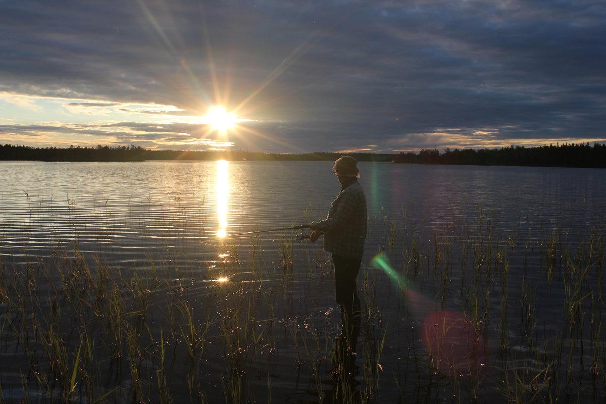 вечерняя рыбалка - serg