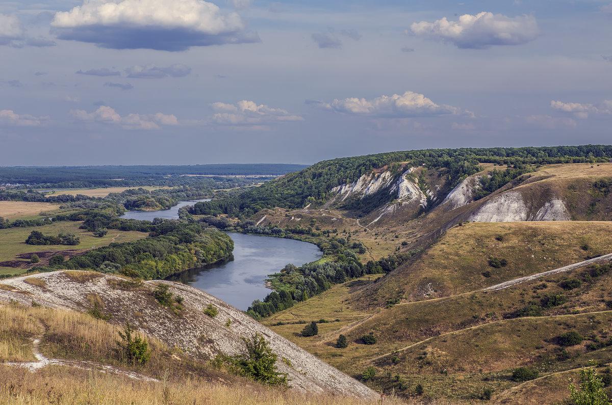 На меловых горах у Дона Август 2014 - Юрий Клишин