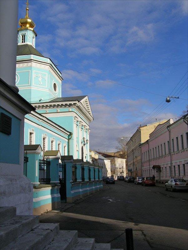 ц Троицы в Серебряниках - Анна Воробьева
