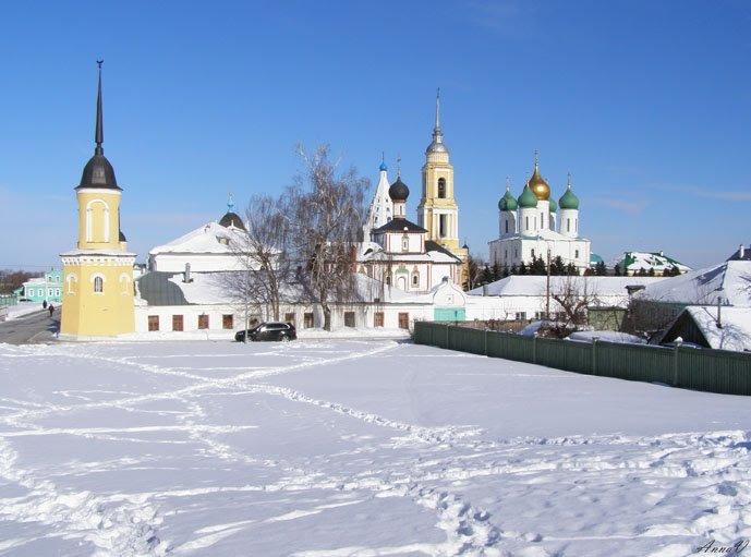 Свято-Троицкий Ново-Голутвин монастырь - Анна Воробьева