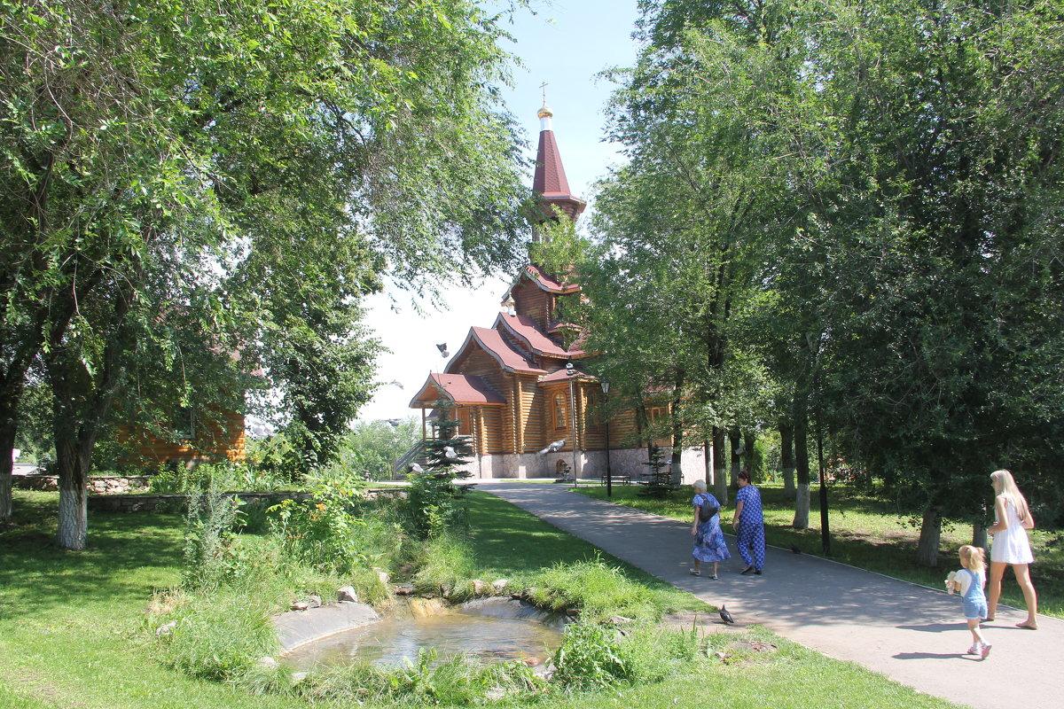 Храм в честь Успения Божией Матери - Александр Алексеев