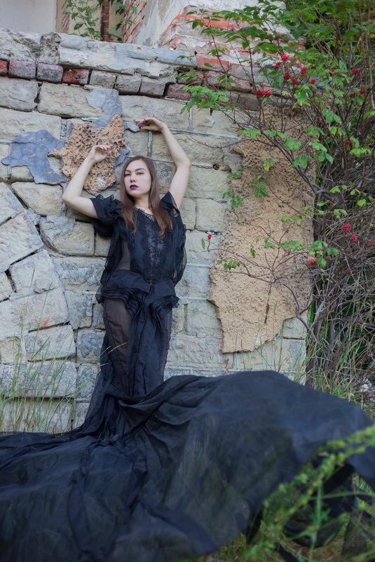Девушка в чёрном платье - Роман Мишур
