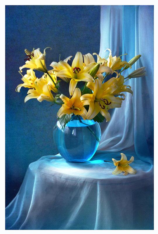 Этюд с желтыми лилиями - lady-viola2014 -