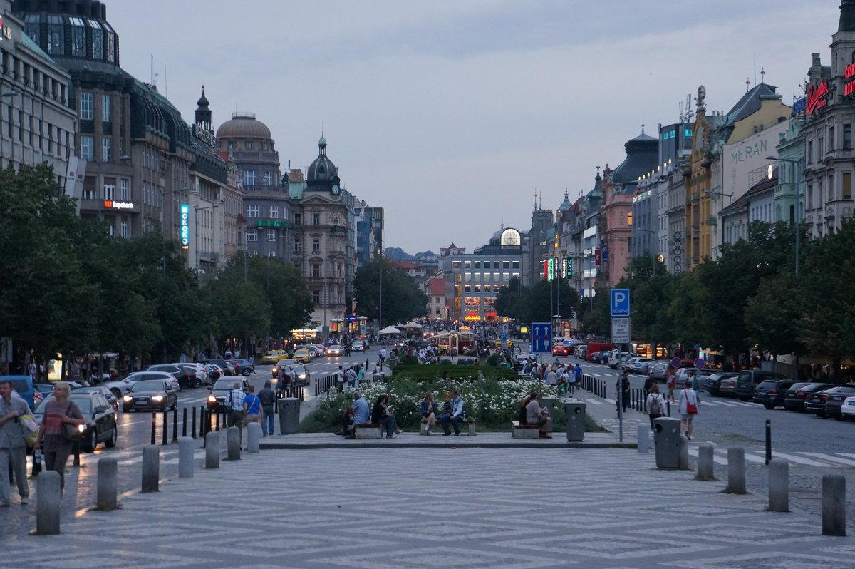 Прогулки по ночной Праге .. - Алёна Савина