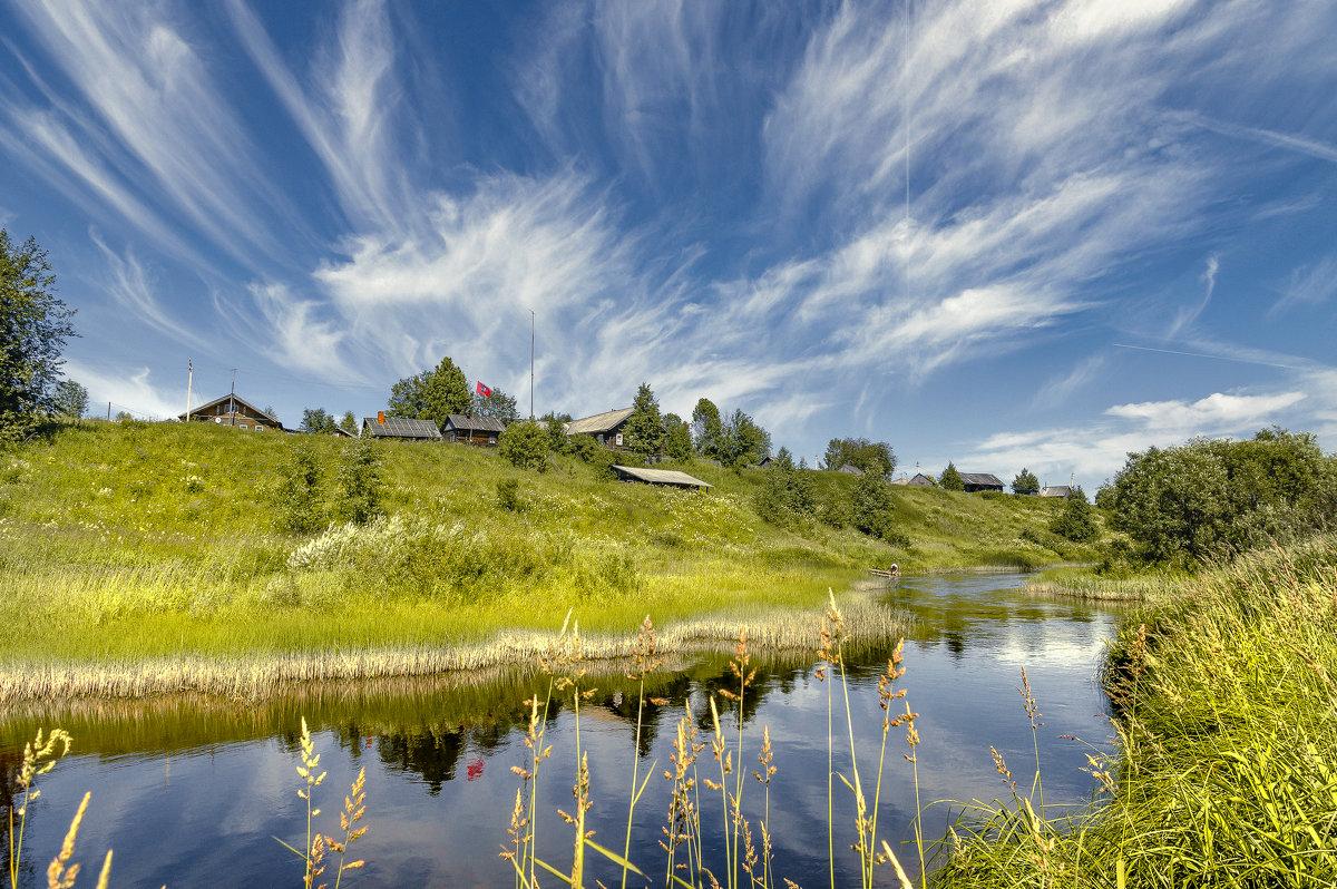 На реке Ёмбе... деревня Сафоновская... июль месяц... - Федор Кованский