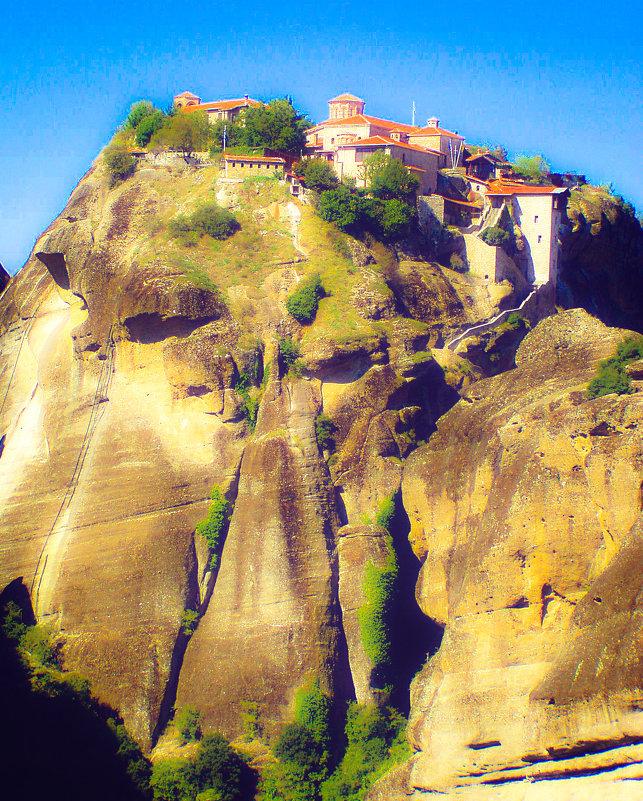Спасский монастырь в Метеорах - Лара Амелина