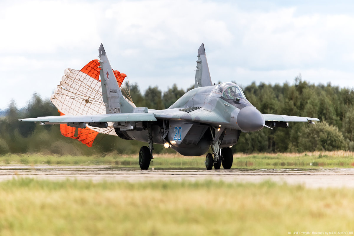 МиГ-29СМТ - Павел Myth Буканов
