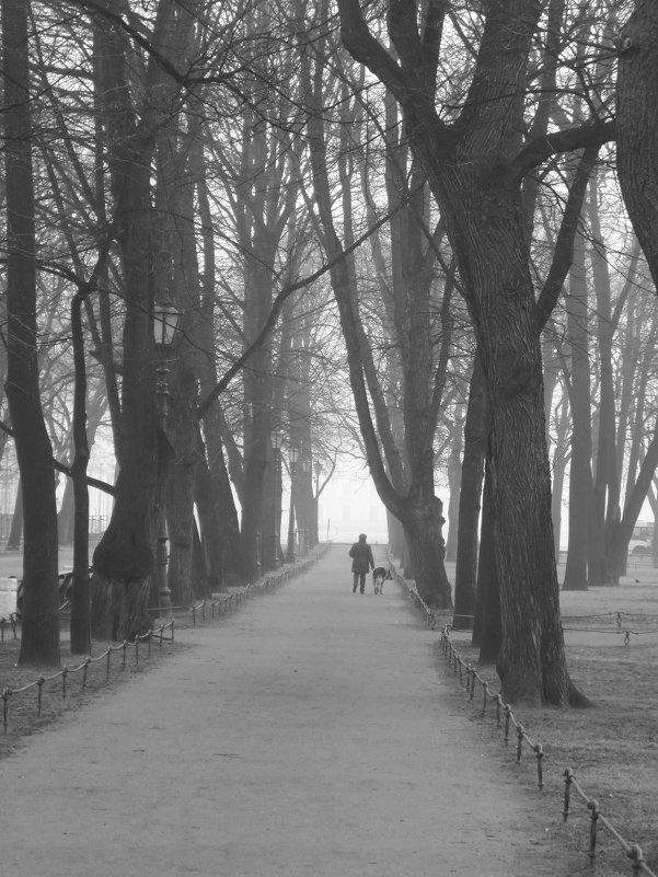утро в Александровском саду - Елена