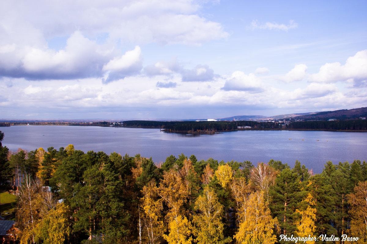 Вид озера. - Вадим Басов