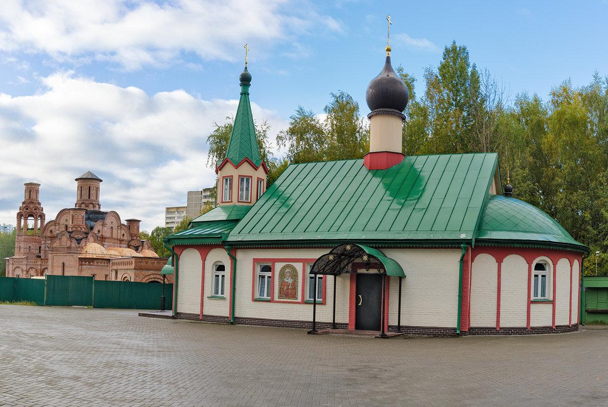 Храм Анастасии Узорешительницы в Теплом стане - Ирина Шарапова