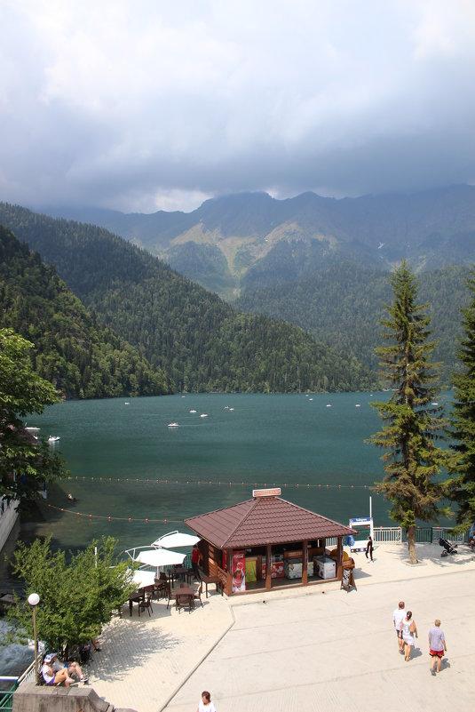 Красота озера Рицы - Татьяна Коблова
