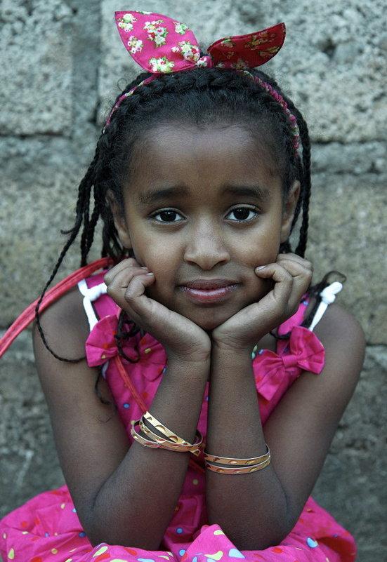Девочка из Эфиопии - Евгений Печенин