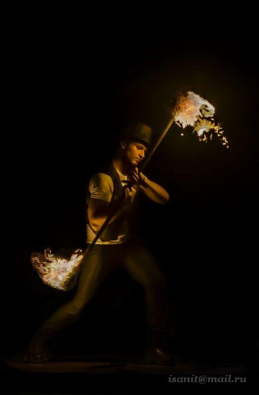 Игра огнем... - isanit Sergey Breus